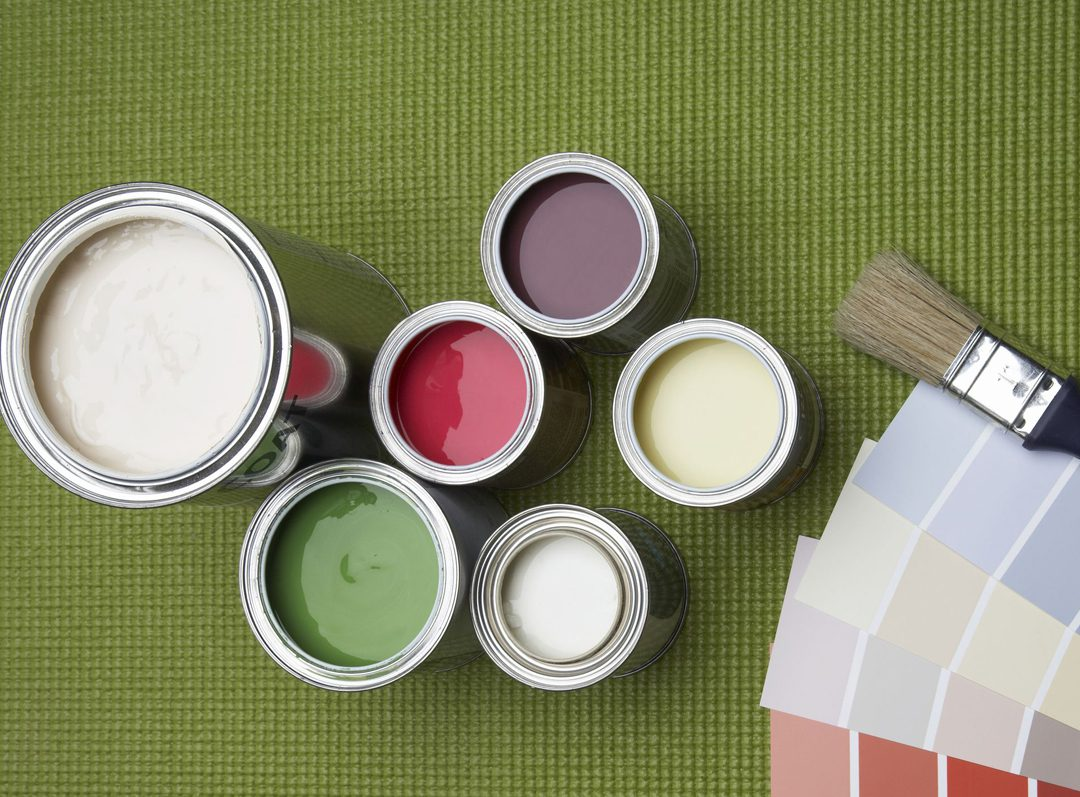 paint mixing service